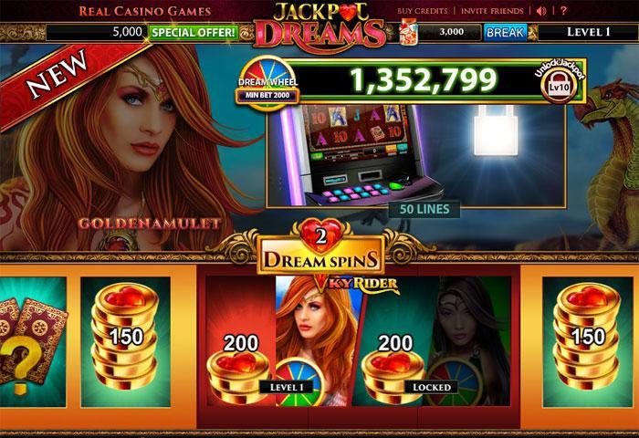 Jackpot Dreams Casino - Slots & Bingo Games