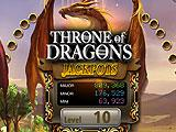 Throne of Dragons Slots Level map and Slots Lobby