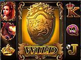 Wild Card Mega Win Bonus in Throne of Dragons Slots