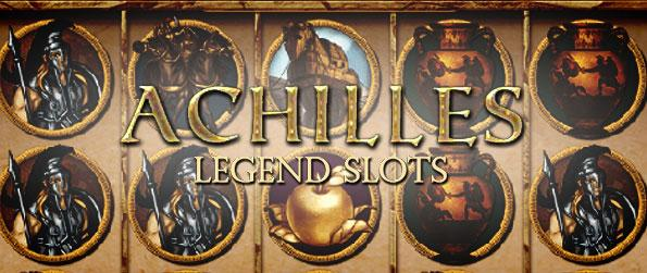 Achilles Legend Slots - Enjoy the massive payouts in this wonderfully Greek mythology themed slots game with all its bonus games and boosters to put into play.