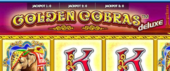 Golden Cobras Deluxe - Win big and have fun at the same time in this slot machine game.