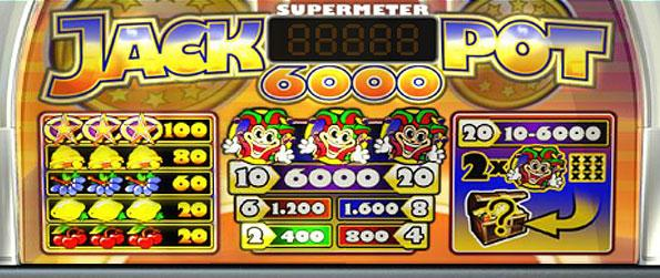 Jackpot 6000 Slot - Experience a classic slots game based on the Norwegian Slots game called Jackpot 2000 in this wonderfully designed facebook slots game.