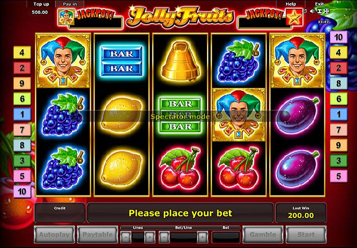 jolly fruits slots