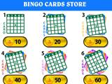 Choosing Cards in Bingo Master
