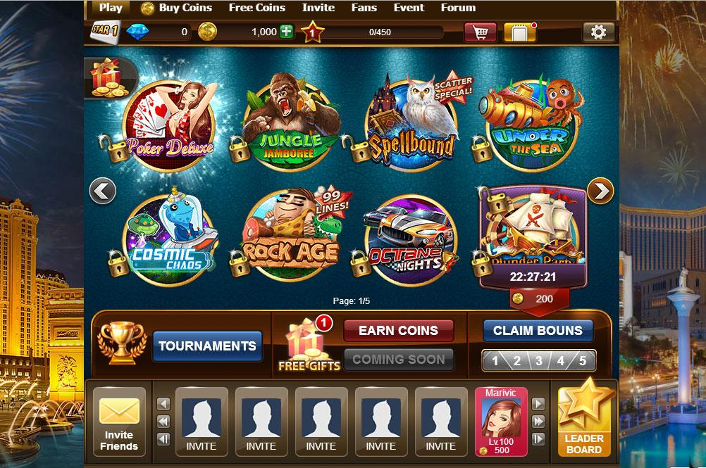 games slot machine