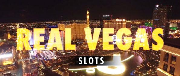 Real Vegas Slots Casino - Try your luck on a diverse range of slot machines in this epic game.