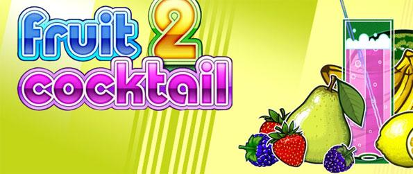 Fruit Cocktail 2 - Play this exciting fruit-themed slot machine game and win big.