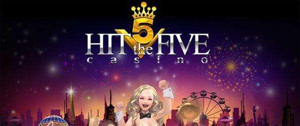 Hit The Five Casino - Enjoy playing a wide variety of slot machine games.