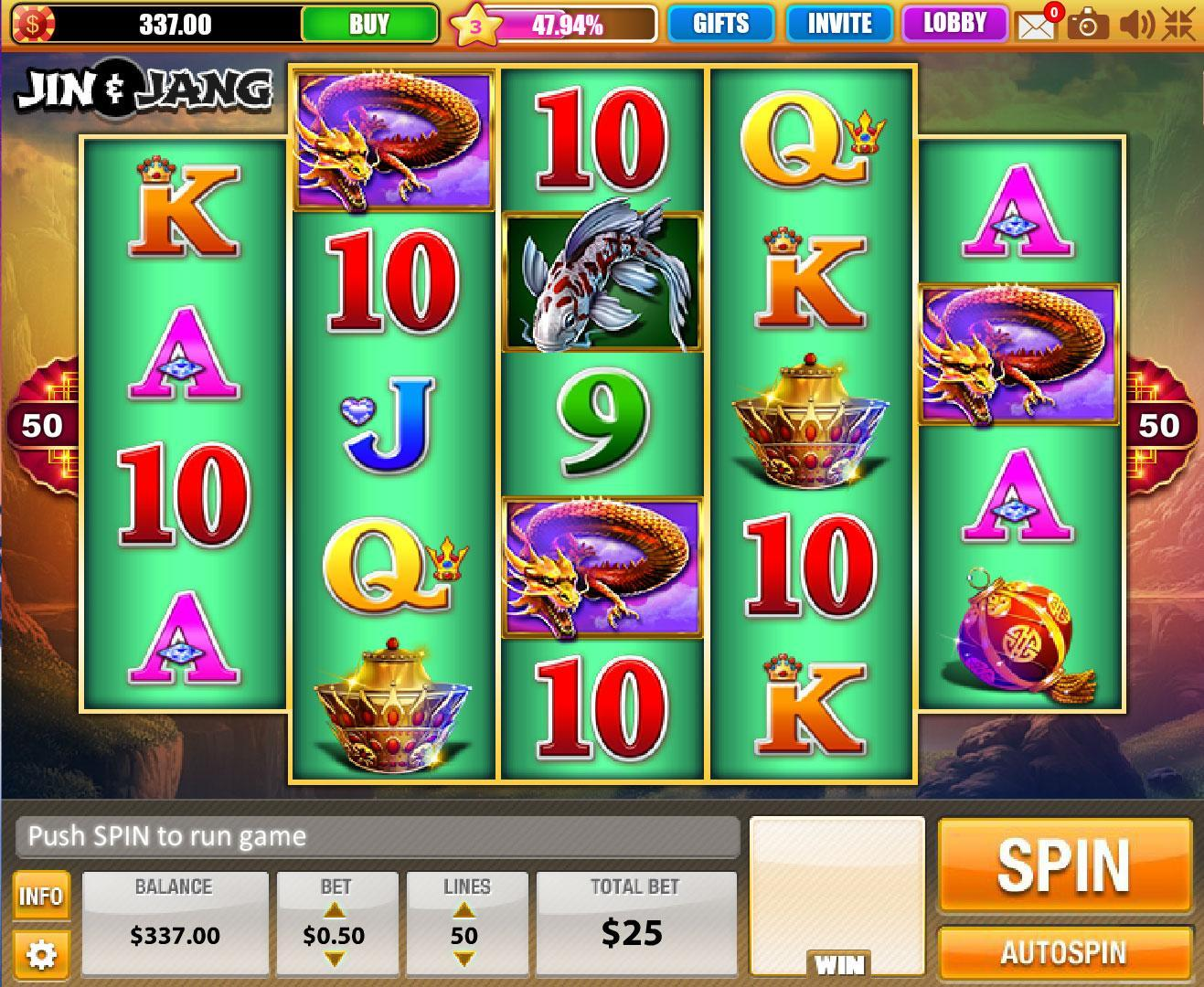 House Of Fun Slots Jin Jang Machine ...