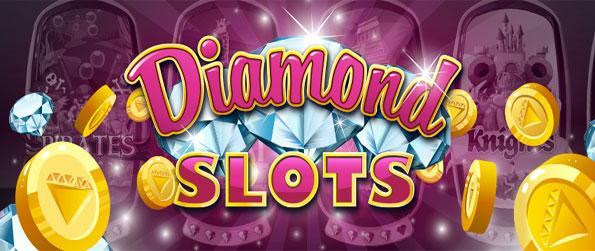Diamond Slots - Win big and enjoy a unique twist on slots games with this amazing new Facebook Slots Game.