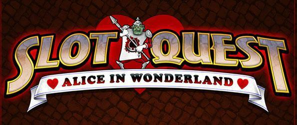 Slot Quest: Alice in Wonderland - Fulfill quests and keep the evil Queen from winning!