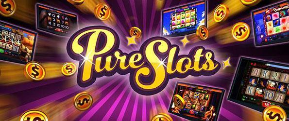 Pure Slots - Enlist over live tournaments competing with hundreds of active players at a time in this wonderful slots game.