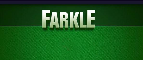 Farkle - Roll that dice and score big.