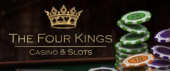 The Four Kings Casino and Slots - Play your favorite casino games in a social MMO that provides a true-to-life, yet simulated, casino experience.
