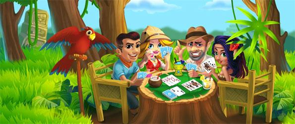 Exoty Rummy - Enjoy this addicting card game that you'll be able to play with people from around the world.