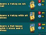 Yatzy Arena achievement screen