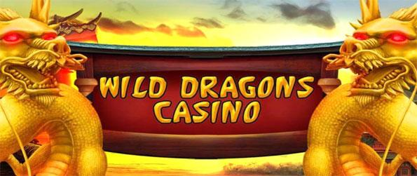 Wild Dragons Casino - Level up and unlock new games.