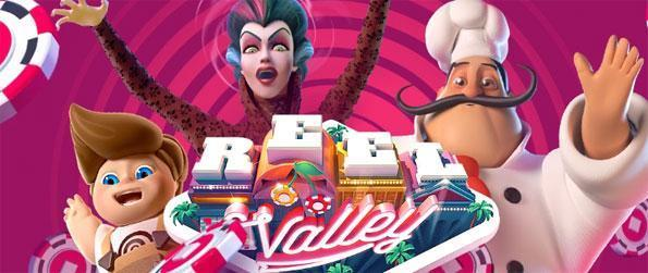 Reel Valley - Play a huge variety of slots as you build your own city in Reel Valley.