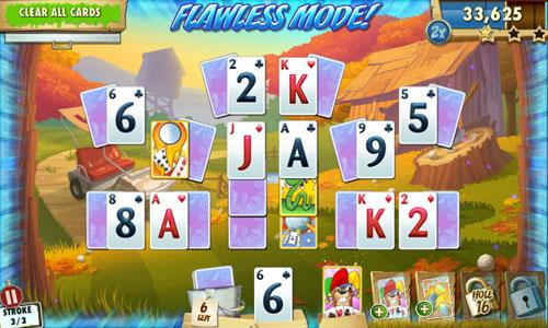 Flawless Mode in Fairway Solitaire Blast