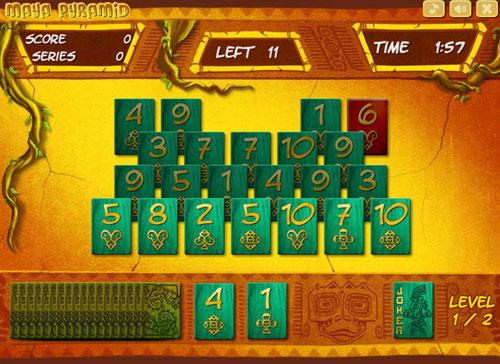 Enjoy Maya Pyramid