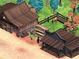 Solitaire Chronicles: Wild Guns building the settlement