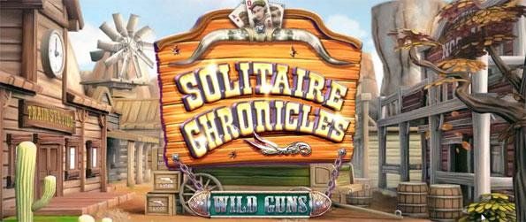 Solitaire Chronicles: Wild Guns - Enjoy this addicting solitaire game in which you'll get to head out into the Wild West.
