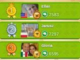 Leaderboard of Solitaire 3 Social