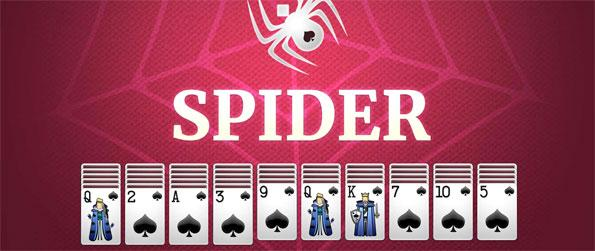 Spider Solitaire - Solve the solitaire puzzles in Spider Solitaire.