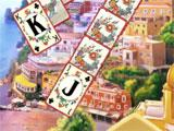 Solitaire Italian Trip King and Jack of Clubs