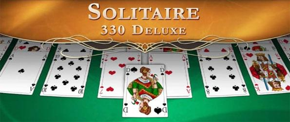Solitaire 330 Deluxe - Play a hug variety of solitaire games in Solitaire 330 Deluxe.
