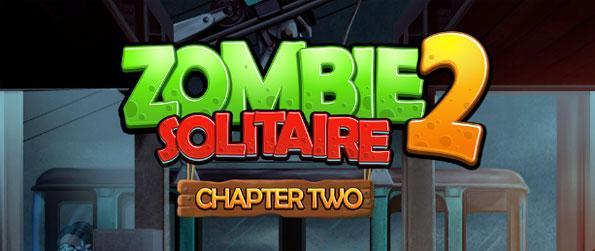 Zombie Solitaire 2: Chapter 2 - Escape the zombie apocalypse.