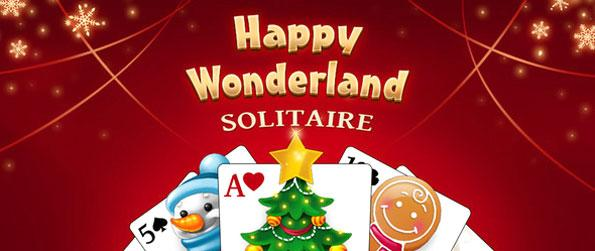 Happy Wonderland Solitaire - Play this festive solitaire game that's sure to get you into the spirit of Christmas.