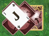 Gameplay in Solitaire: Ted and P.E.T