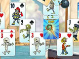 Zombie Solitaire 2: Chapter 3: Playing Solitaire