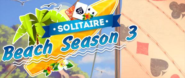 Solitaire Beach Season 3 - Collect all the Golden Cards and win the level in Solitaire Beach Season 3!