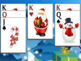 A win in Christmas Solitaire