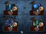Mystery Solitaire: Arkham's Spirits level selection