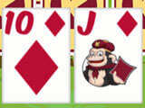 Gameplay in Kiba & Kumba Tri Towers Solitaire