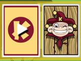 Using the joker card in Kiba & Kumba Tri Towers Solitaire