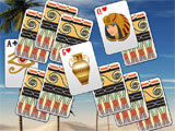 Luxor Solitaire challenging level