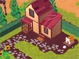 Farmship: TriPeaks Solitaire building a farm