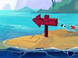 Solitaire - Island Adventure Island Marker