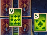 Gameplay in TriPeaks Solitaire Cards Queen