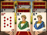 Tales of Rome: Solitaire gameplay