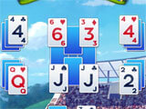 Golf Solitaire Tournament gameplay