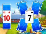 Solitaire Tripeaks: Farm Adventure gameplay