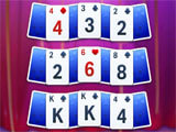 Solitaire Showtime challenging level