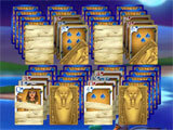 The Artifact of the Pharaoh Solitaire gameplay