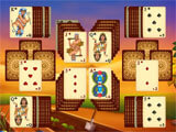 The Artifact of the Pharaoh Solitaire creative level design