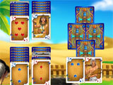 The Artifact of the Pharaoh Solitaire making progress
